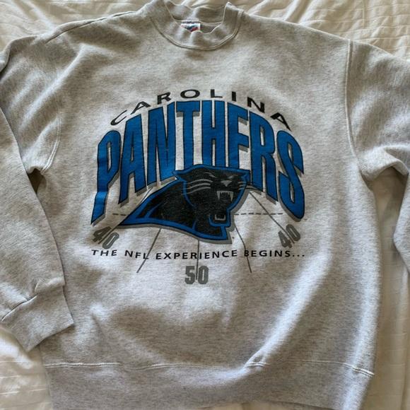 42c83875 Vintage Carolina Panthers Crewneck